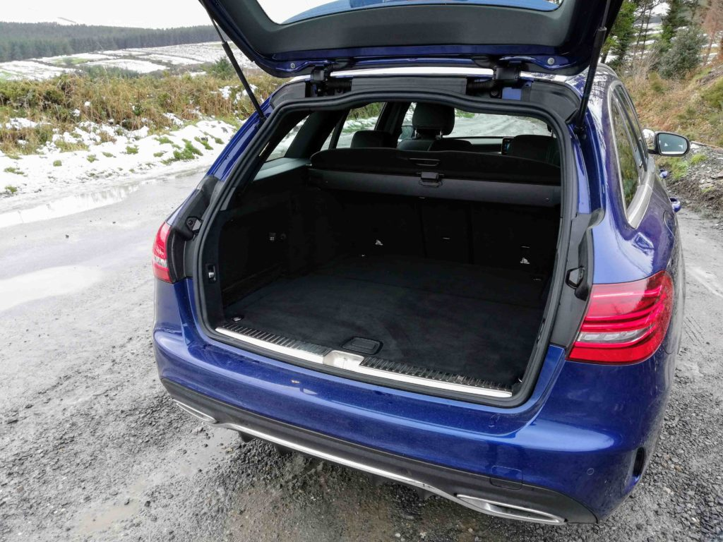 The C-Class Estate is the most practical member of the range