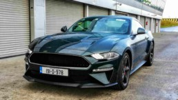 The new Ford Mustang Bullitt pictured at Mondello Park