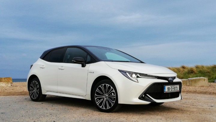 The new Toyota Corolla Hatchback Hybrid