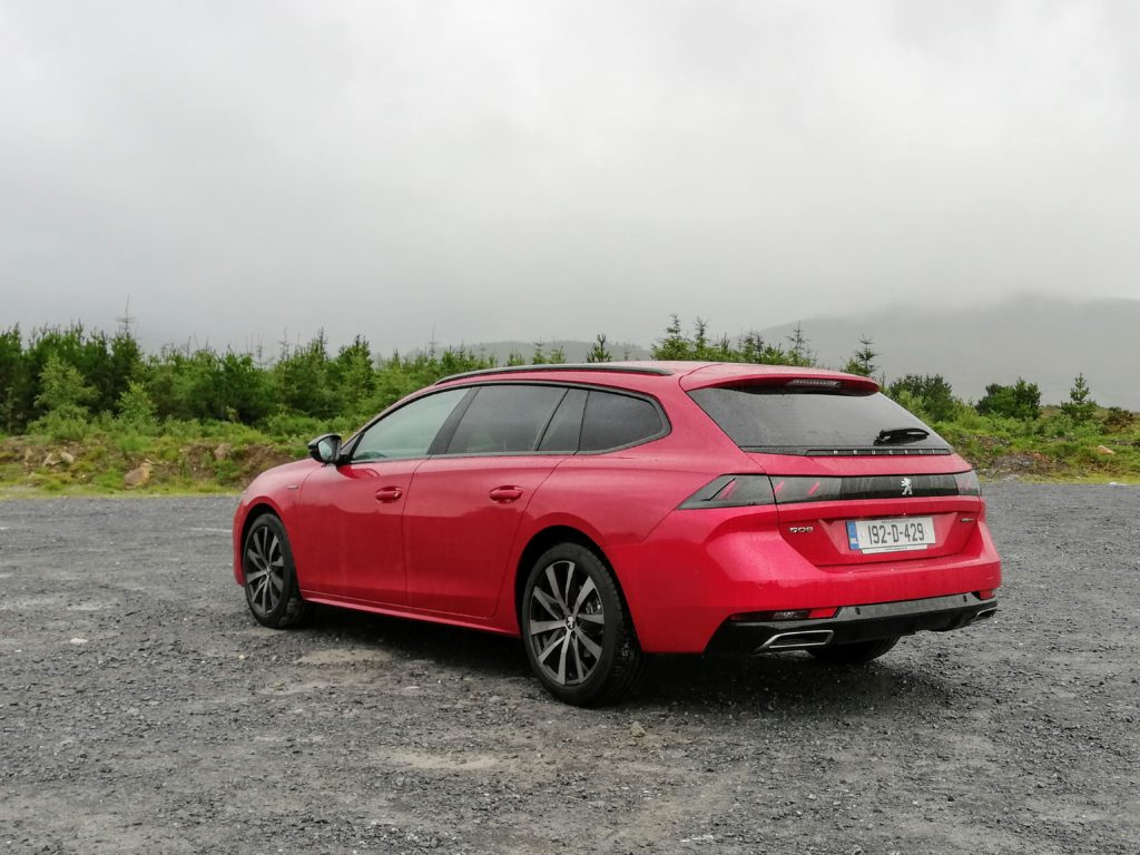 The 2019 Peugeot 508 SW is the practical sibling to the 508 Fastback