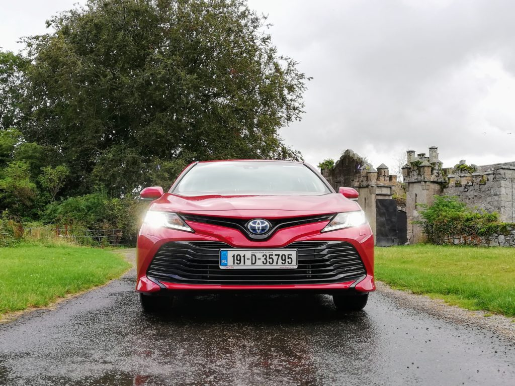 The new Toyota Camry Hybrid