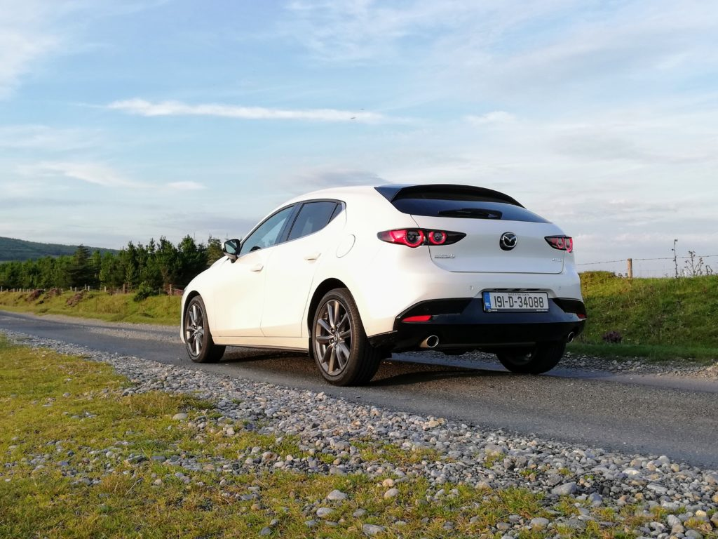 The Mazda3 2.0-litre petrol engine now features mild hybrid technology to boost efficiency and reduce emissions