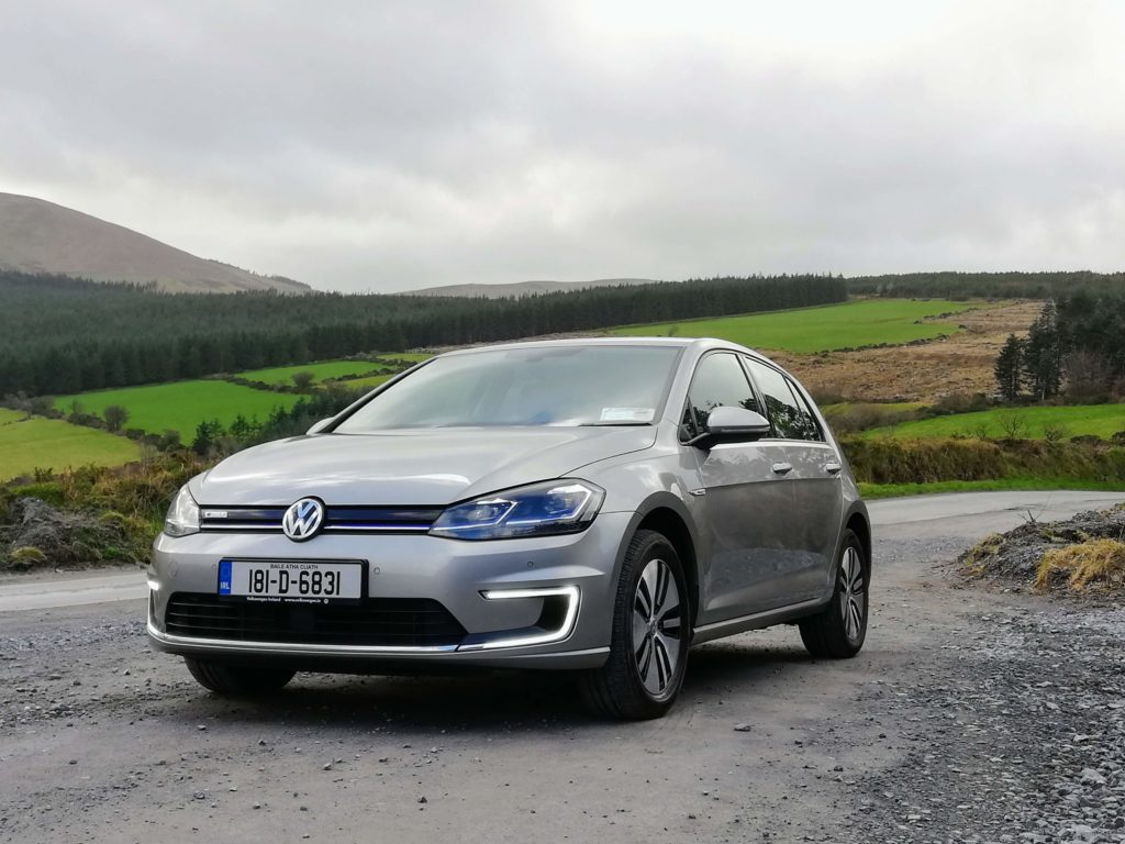 The new Volkswagen e-Golf