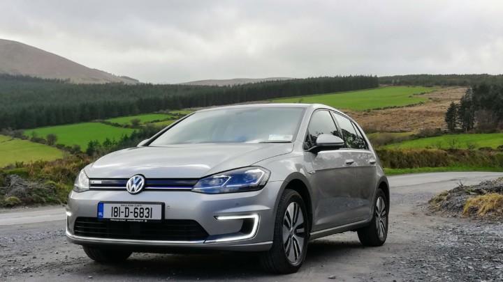 The new Volkswagen e-Golf