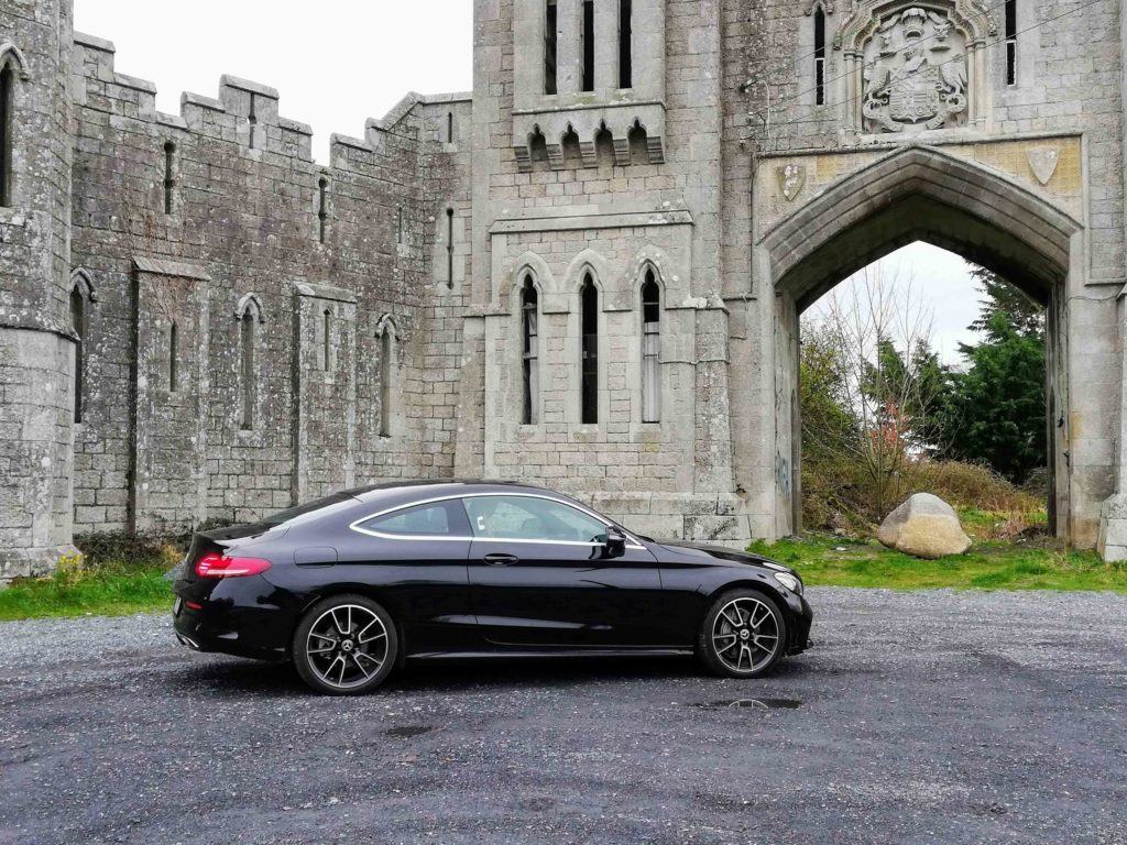 The Mercedes-Benz C-Class Coupé is available from €38,365 in Ireland
