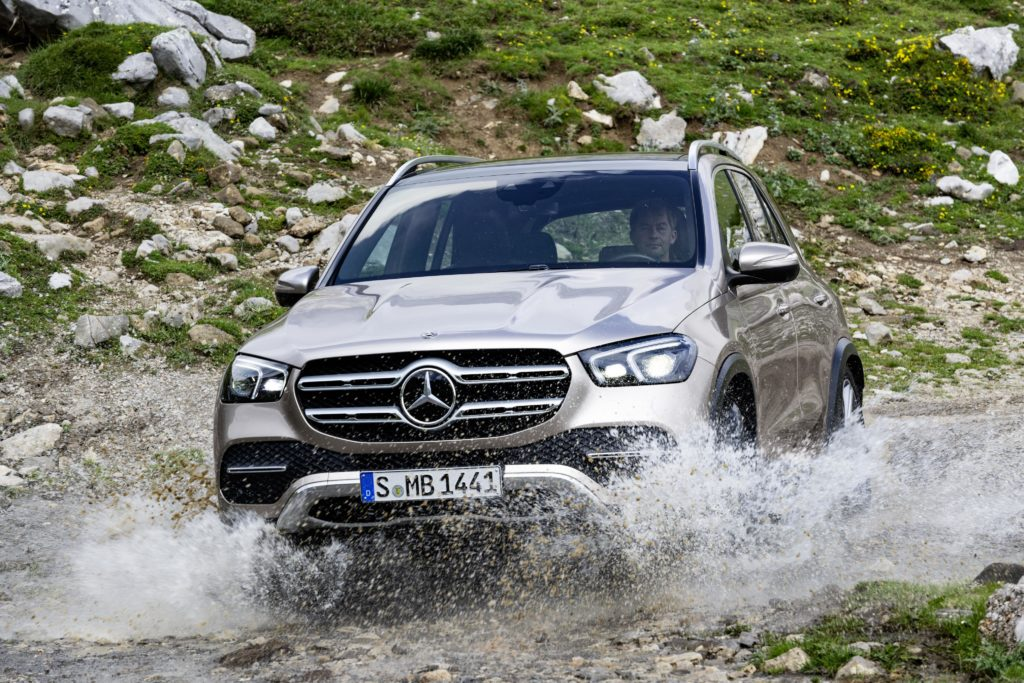 The Mercedes-Benz GLE brings the latest Mercedes style and technology to the large family SUV class