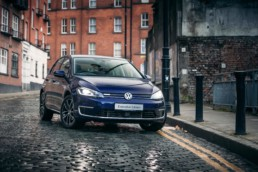 The 2019 Volkswagen e-Golf. Photo by Paddy McGrath