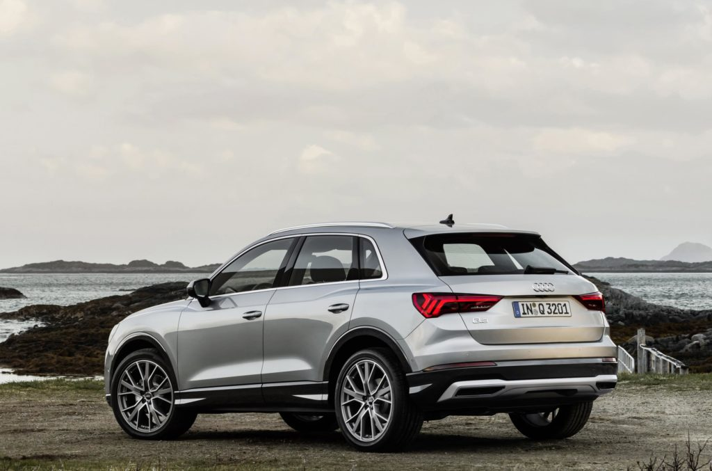 The new Q3 on sale in Ireland from €39,400