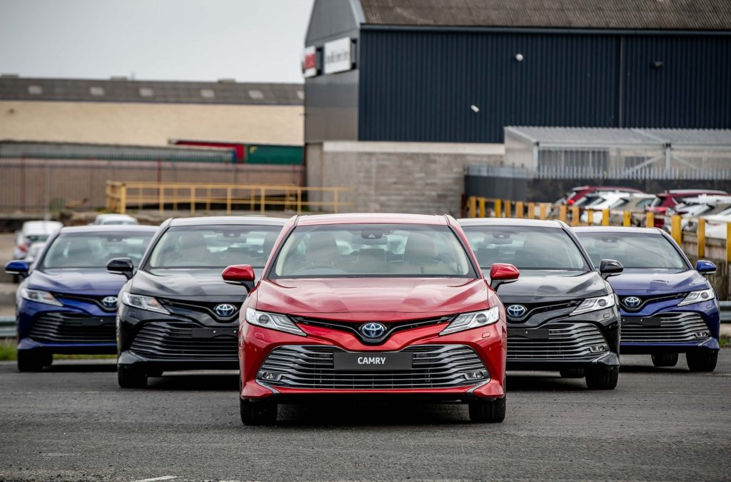 The new Toyota Camry is in Toyota dealers now, priced from €39,750