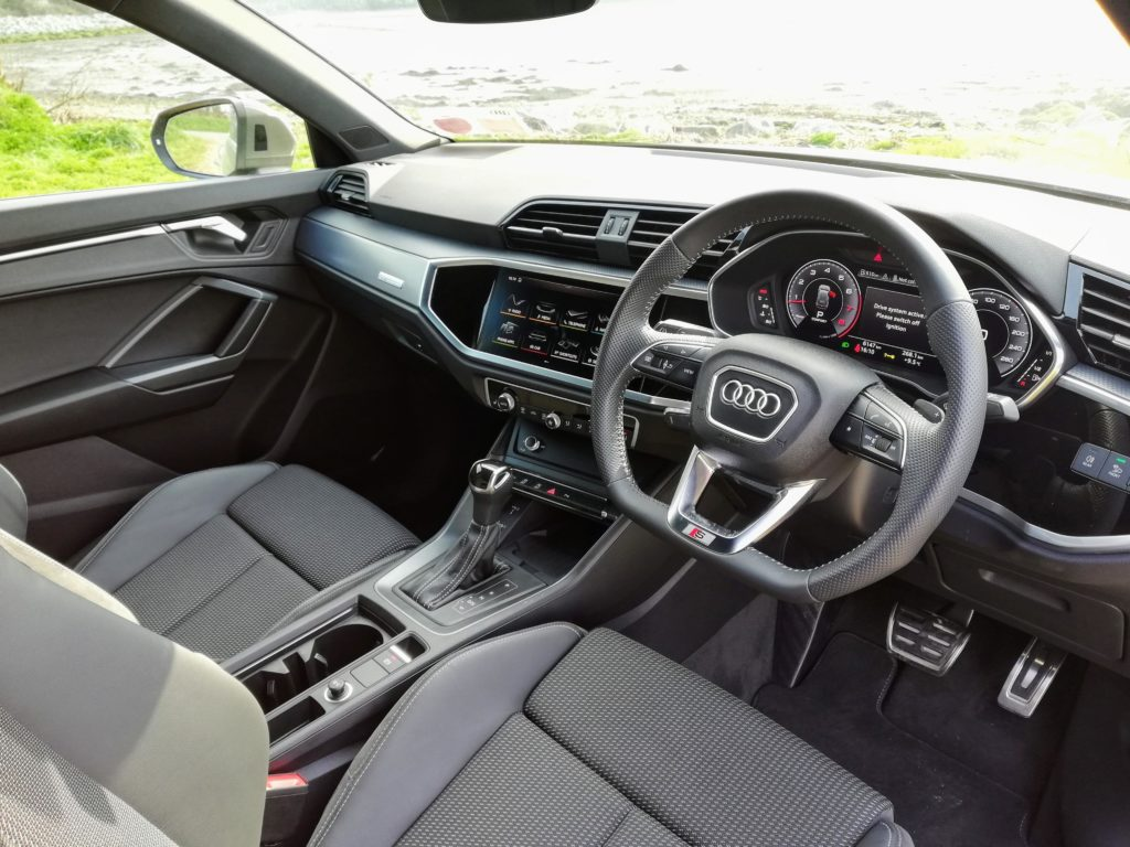 The interior of the new Audi Q3