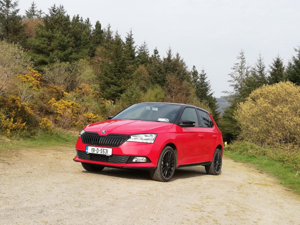 The Skoda Fabia Monte Carlo is a really fun small car with a very individual look!