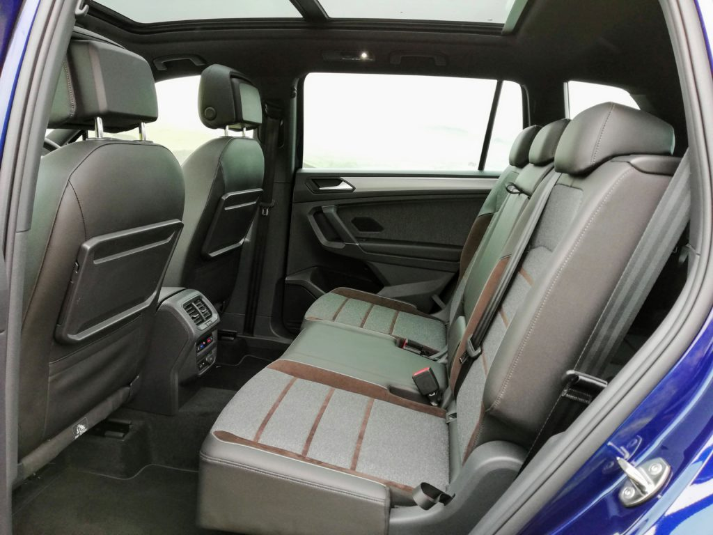 Rear seating in the SEAT Tarraco