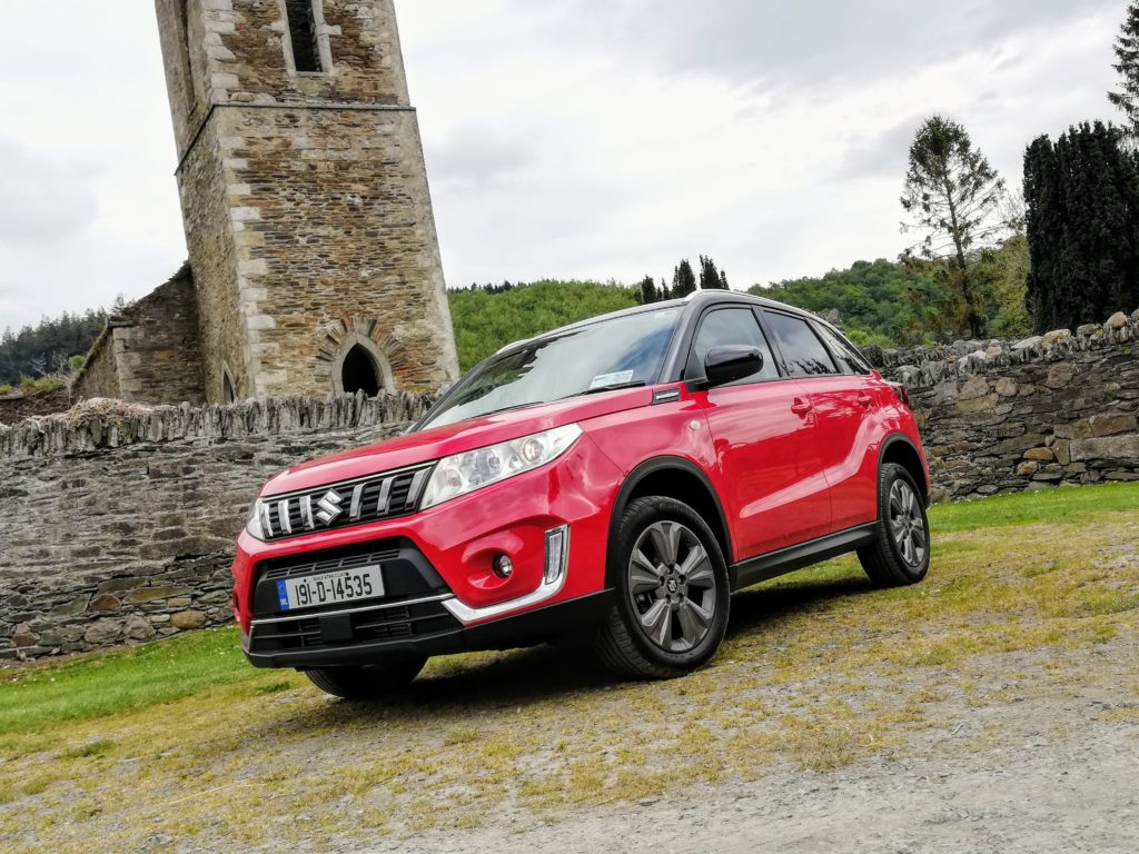 The Suzuki Vitara is a fun little crossover for the compact class