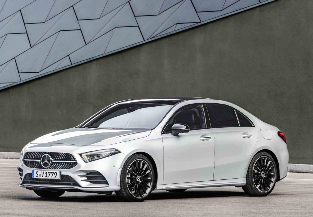 The new Mercedes-Benz A-Class Saloon