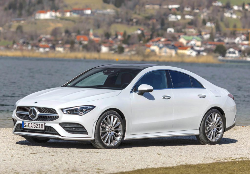 The new Mercedes-Benz CLA