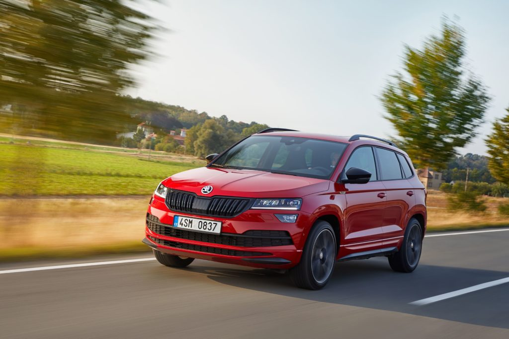The Skoda Karoq gets a pleasant injection of attitude in Sportline trim
