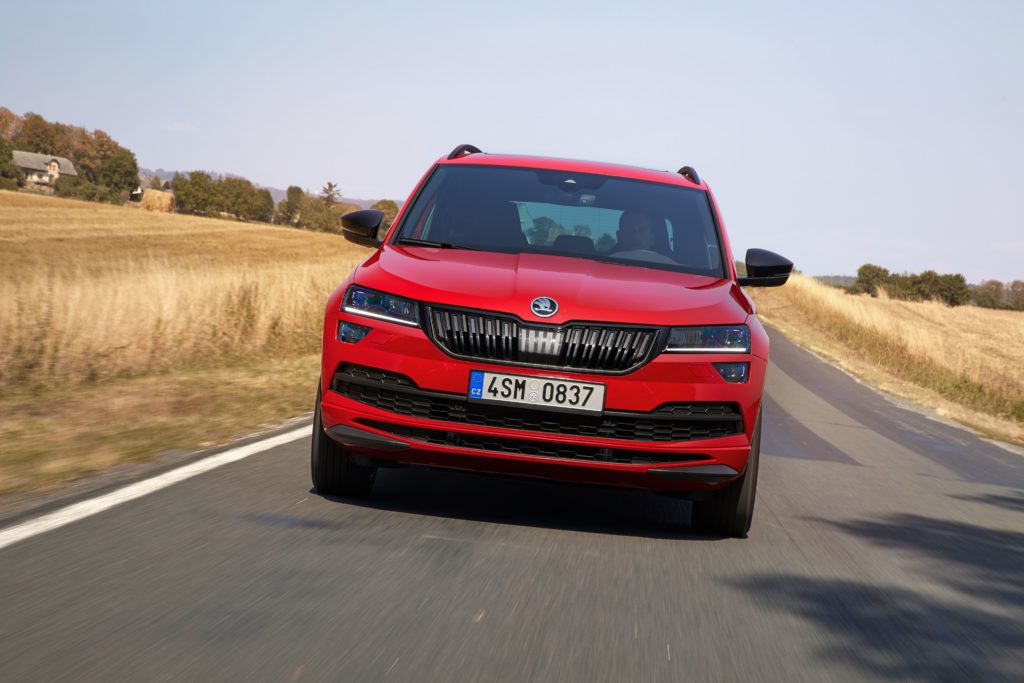 The new Skoda Karoq Sportline