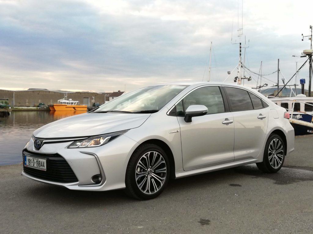 The new Toyota Corolla Saloon