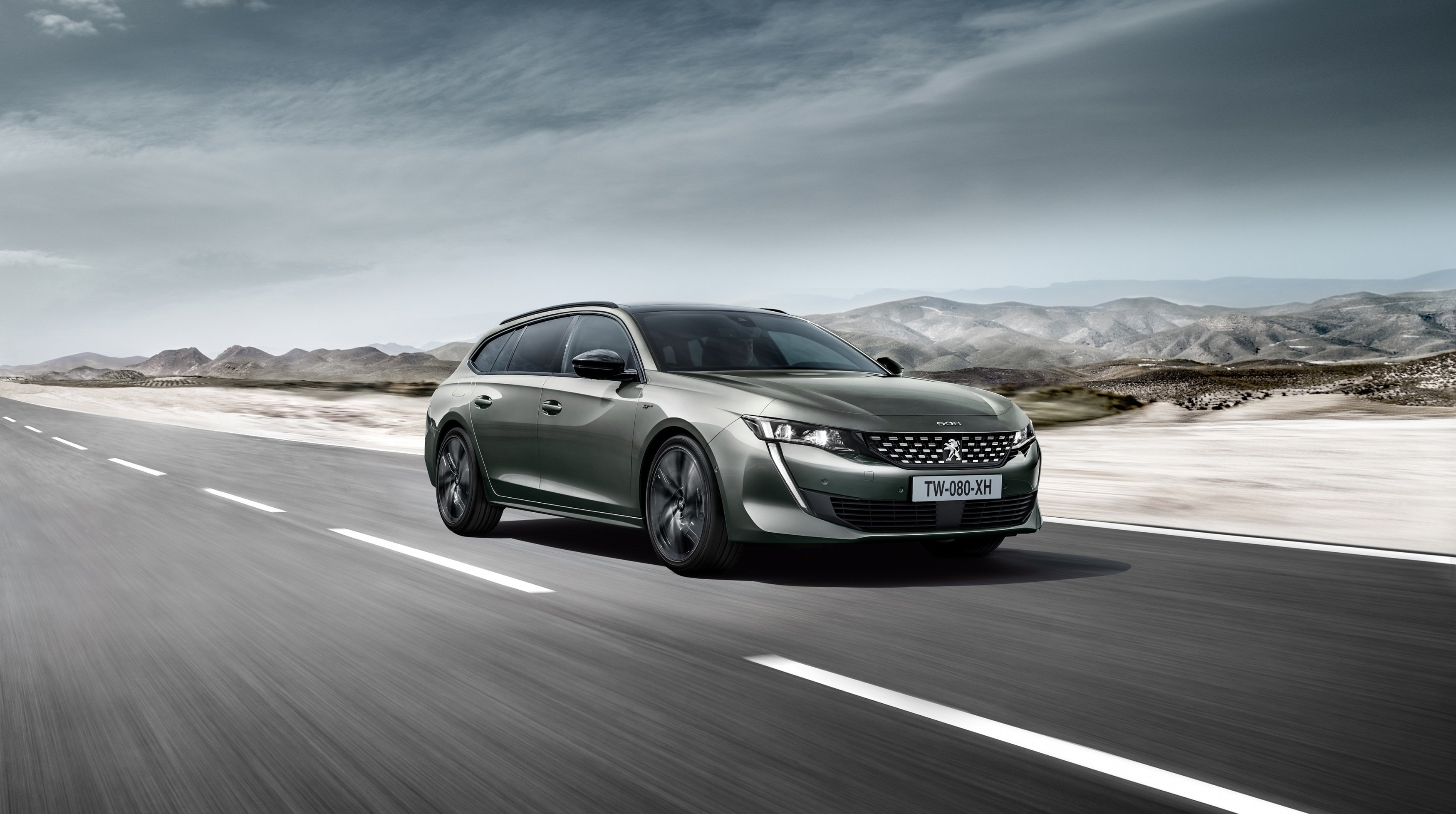 The new Peugeot 508 SW