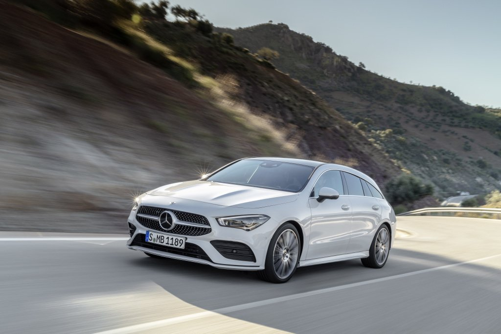 The new Mercedes-Benz CLA Shooting Brake will arrive in Ireland in October