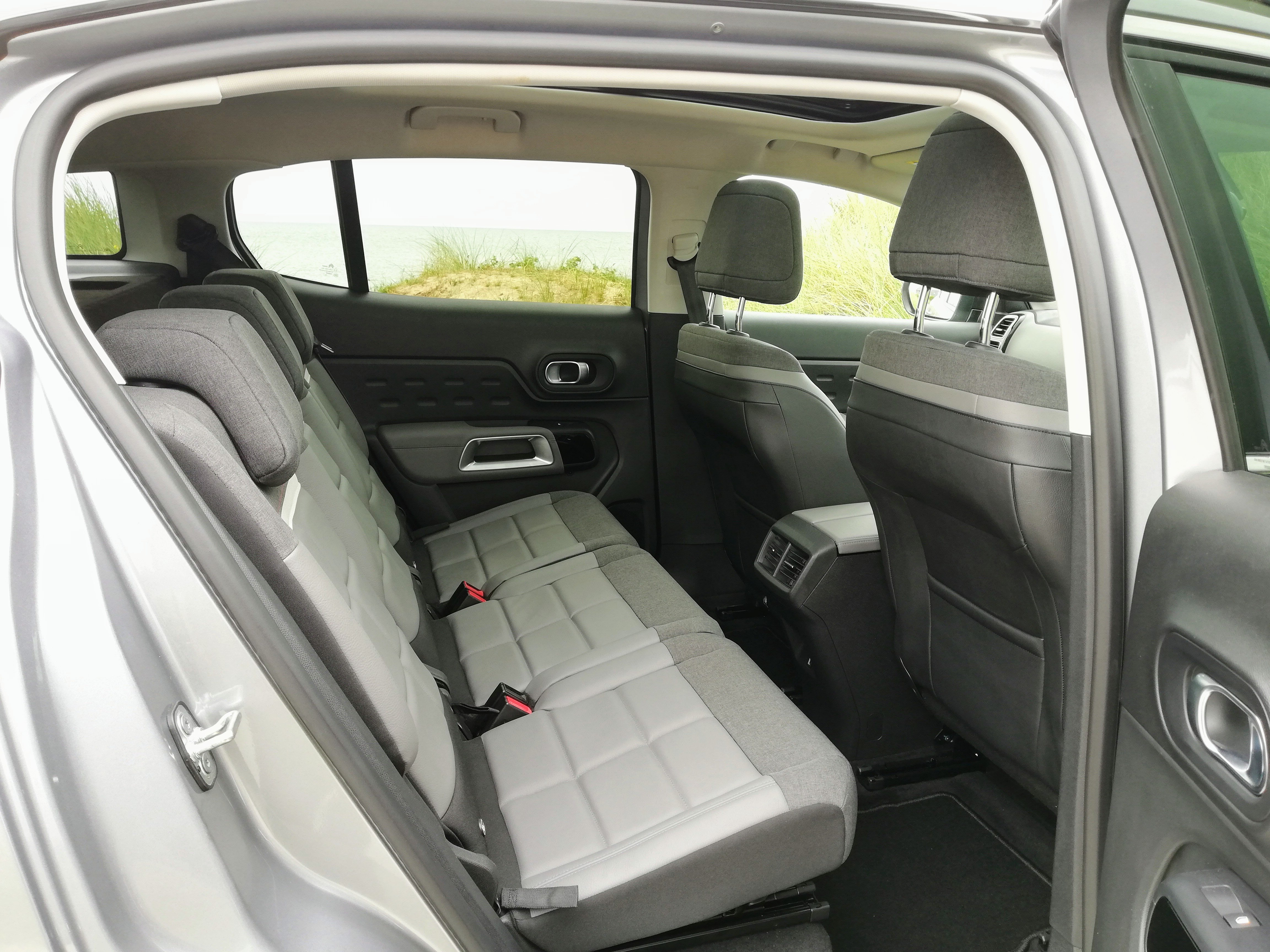 Rear seating in the C5 Aircross