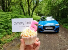 We celebrated our 5th birthday with an Audi A1 and a cupcake!