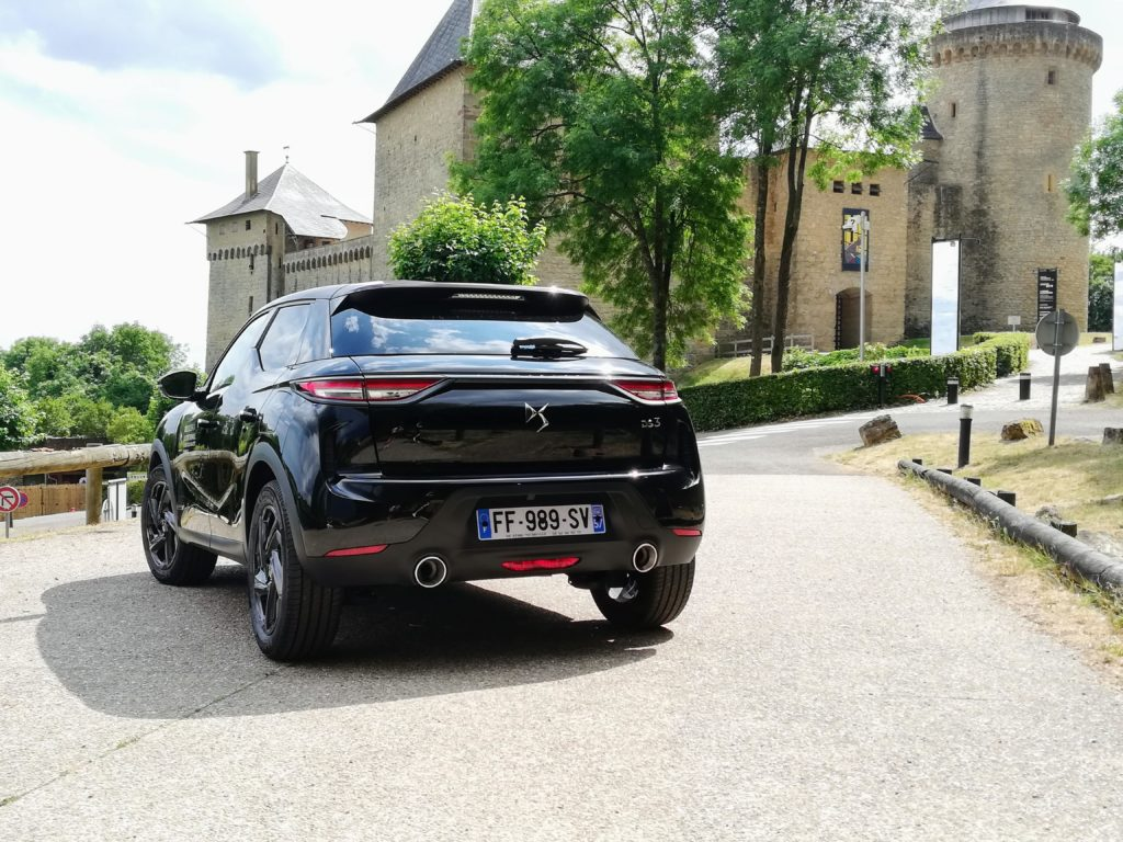The DS3 Crossback at Chateau de Malbrouck