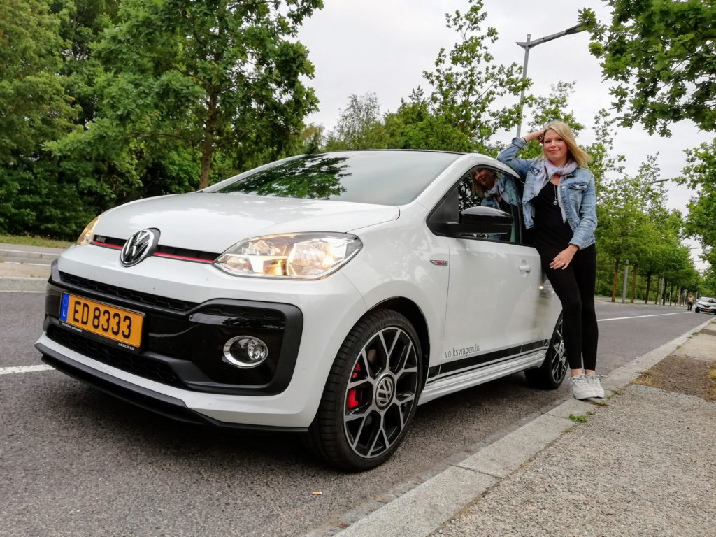 The Volkswagen Up GTI from Losch Luxembourg