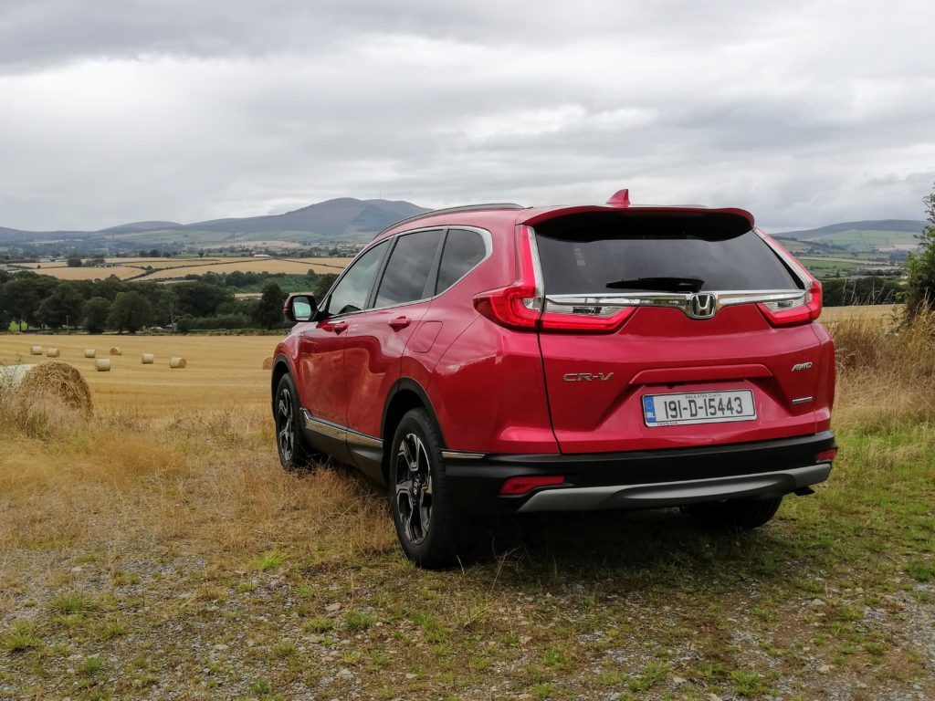 The Honda CR-V Hybrid is available from €38,000