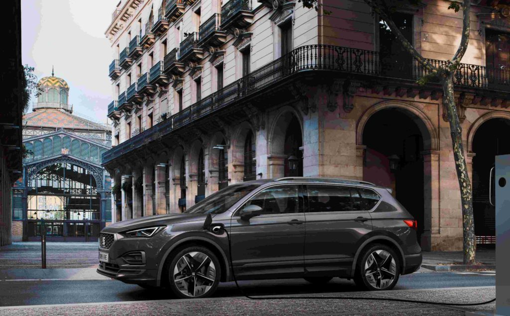 The 2020 SEAT Tarraco PHEV