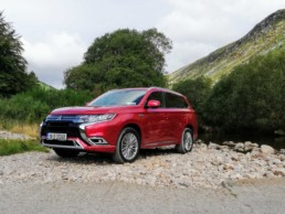 The new Mitsubishi Outlander PHEV