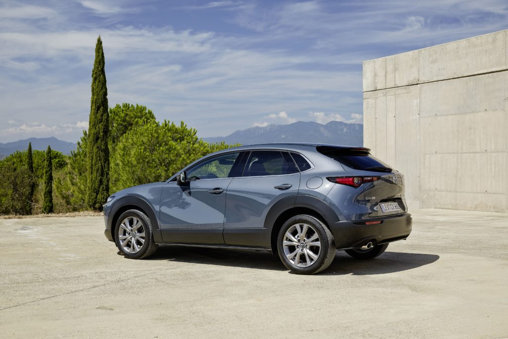 The new Mazda CX-30 is available with petrol and diesel engines