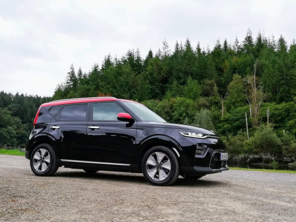 The e-Soul combines the trend for crossovers with an electric powertrain
