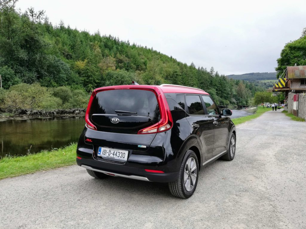 The Kia e-Soul is a fashionable crossover priced from €35,995