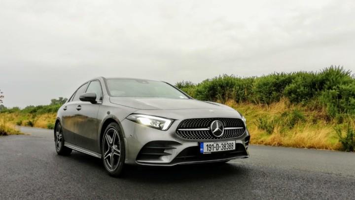 The new Mercedes-Benz A-Class Saloon