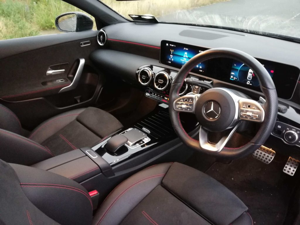 The interior of the new Mercedes-Benz A-Class