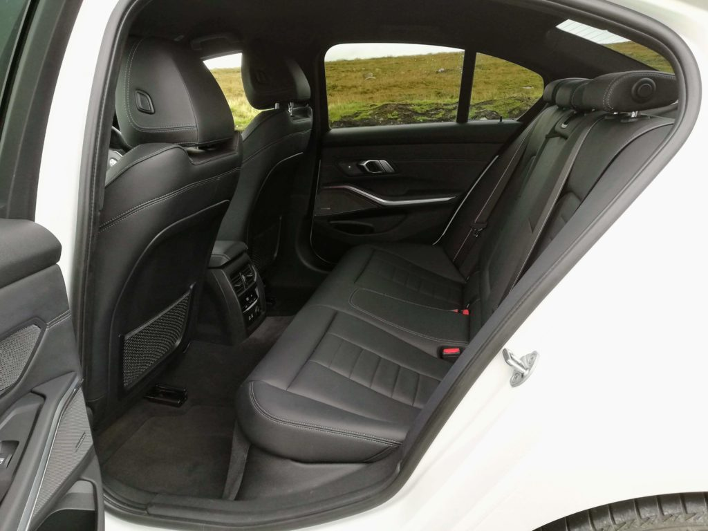 Rear legroom in the new 3 Series