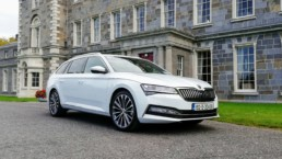 The Skoda Superb has been updated for 2019