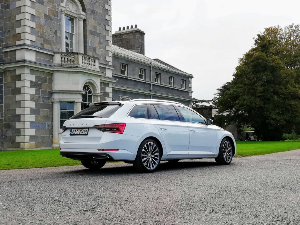 The Skoda Superb is available from €30,750