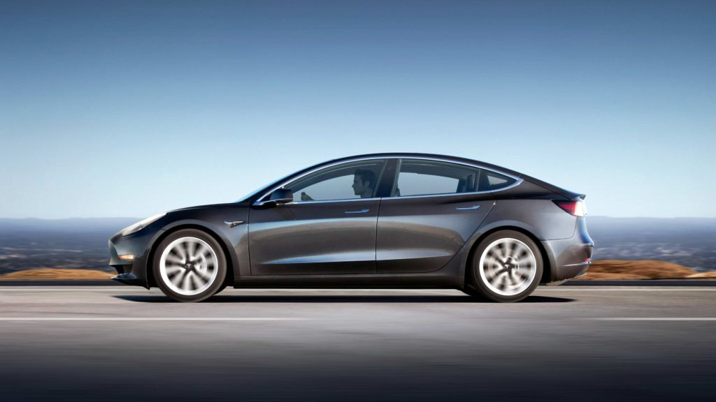 The new TESLA Model 3 has arrived in Ireland!
