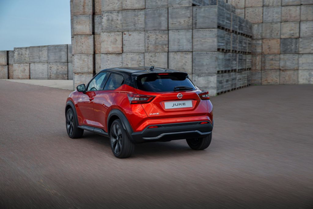 The new Juke is available from €21,995