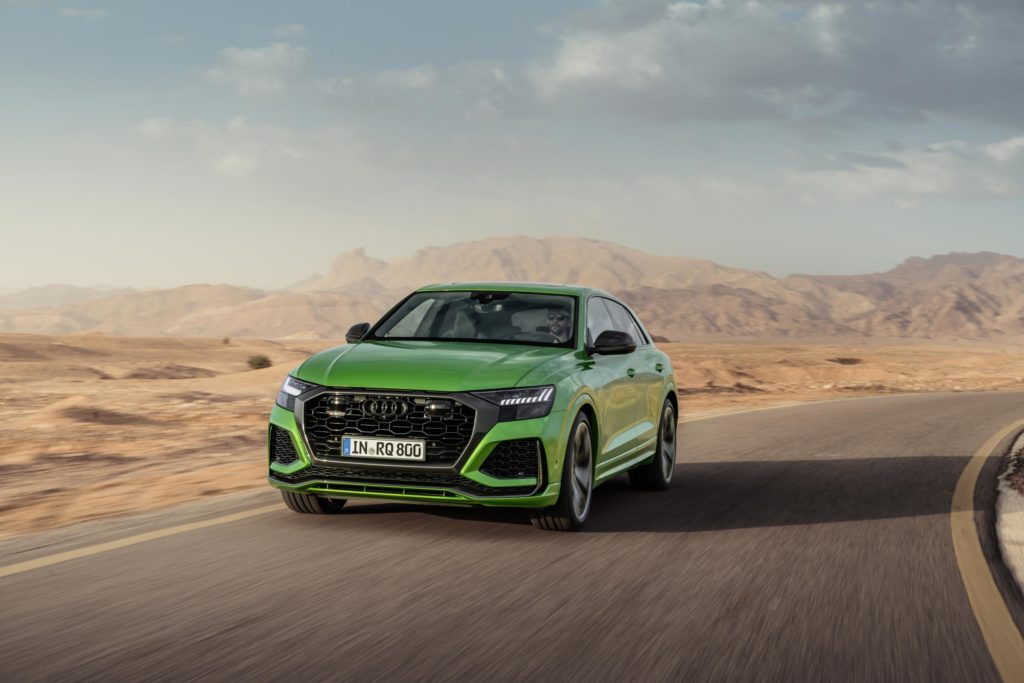 The new Audi RS Q8