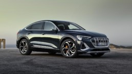 The new Audi e-tron Sportback on the way to Ireland in 2020!