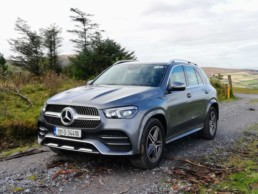 The new Mercedes-Benz GLE pictured in the Blackstairs Mountains!