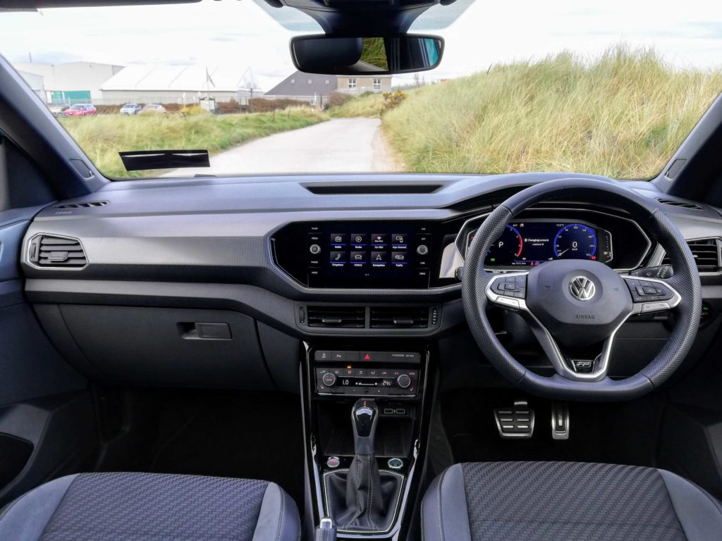 The interior of the new T-Cross