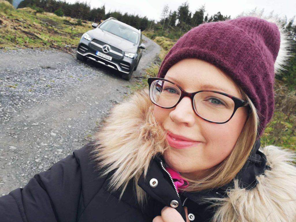 Caroline and the Mercedes-Benz GLE