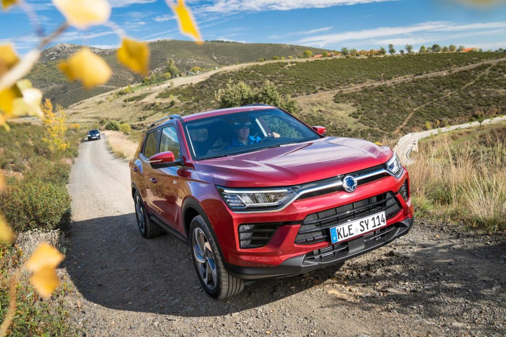 The new SsangYong Korando will go on sale in Ireland in December