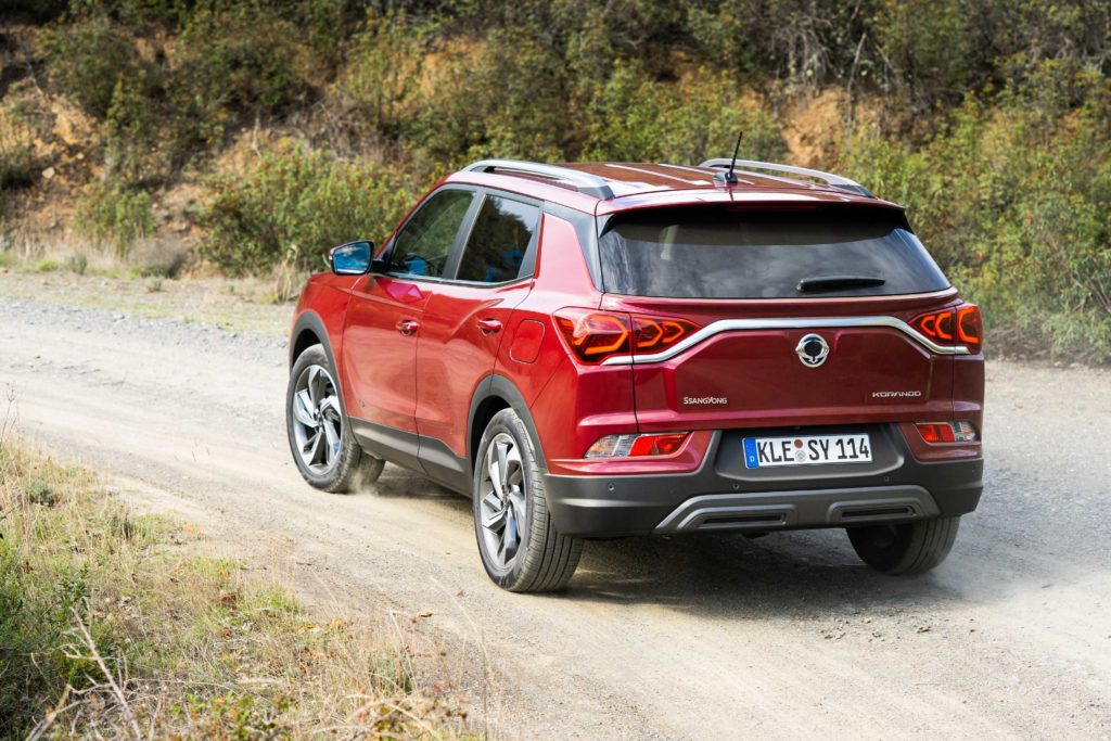The new Korando is available with petrol and diesel engines, with an EV planned in 2022