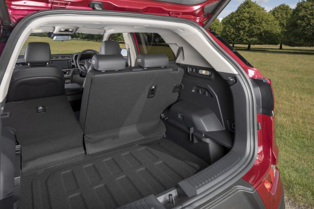 The Korando is now bigger and more practical