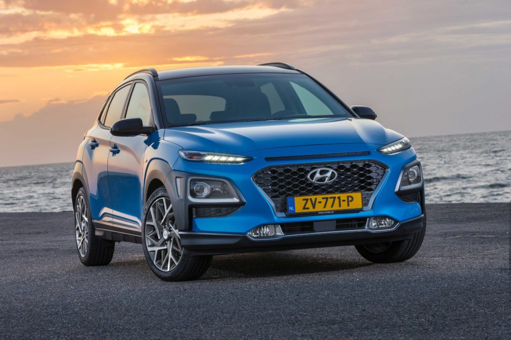 The new Hyundai Kona Hybrid